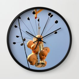 These Dolls Gave Great Head-s Wall Clock