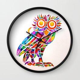 Athenian Owl Wall Clock