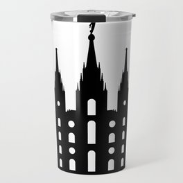 Mormon Style Temple Travel Mug