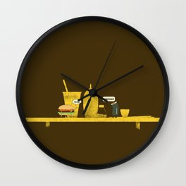 On Board Wall Clock