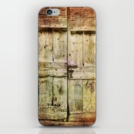 460 Old Barn Door iPhone Skin