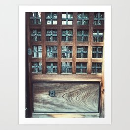 oxide Art Print