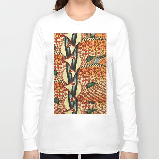 Crowd Fish Long Sleeve T-shirt