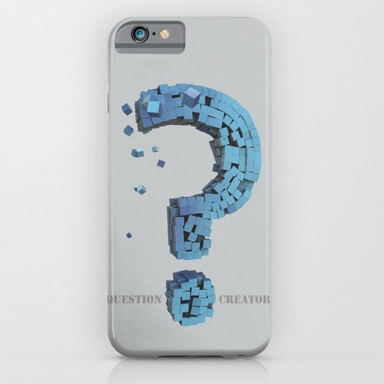 Question Creator iPhone & iPod Case