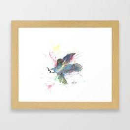 Attack (2012) Framed Art Print