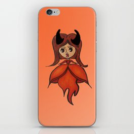 The Fire Queen iPhone Skin