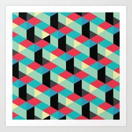 Isometrix 001 Art Print