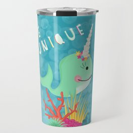 Narwhal Be Unique Travel Mug