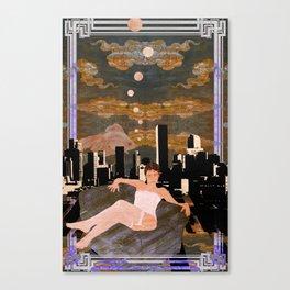 Denber Lady ver.1 Canvas Print