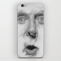 fear iPhone & iPod Skins featuring fear by Dimitris Evagelou