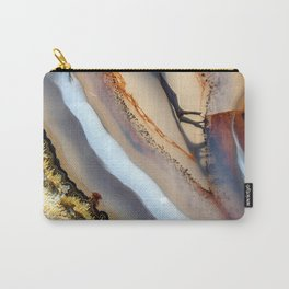 Agate astract Carry-All Pouch