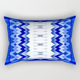 Striking Pencils-blue Rectangular Pillow