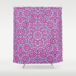 Geometric Intricate Pattern Shower Curtain