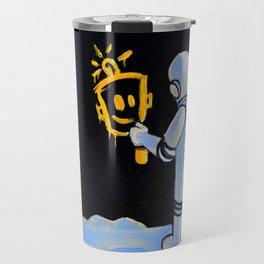 Happy In Space Travel Mug