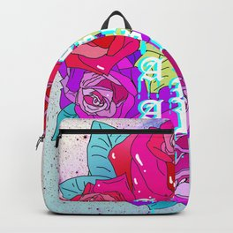 A Rose Is A Rose Is A Rose Rucksack