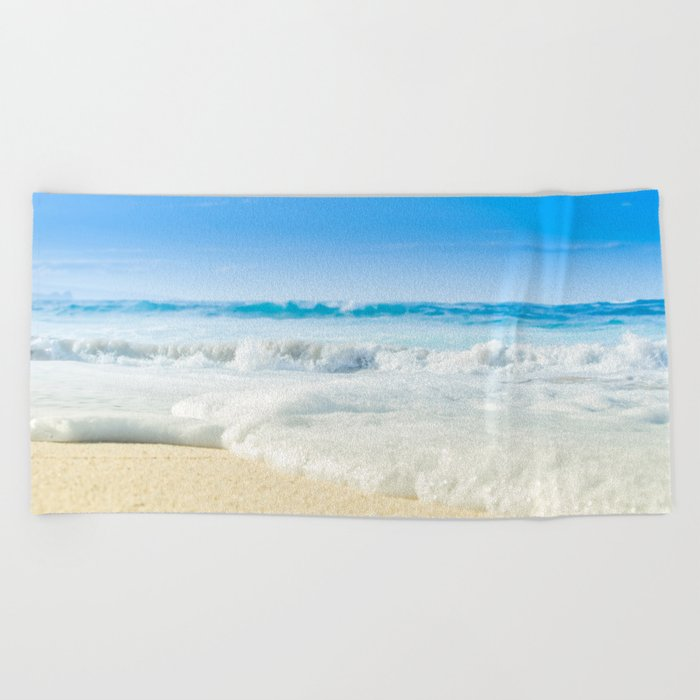 Aloha Beach Days Maui Hawaii Towel
