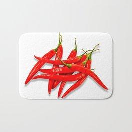 Spicy red pepper Bath Mat