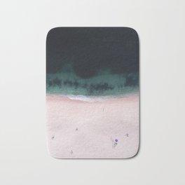 The purple umbrella Bath Mat