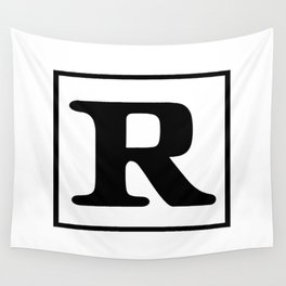 Rated R Wall Tapestry
