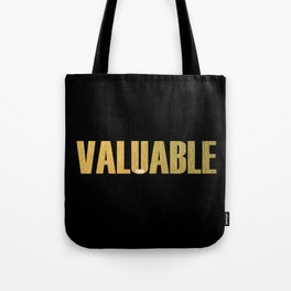Valuable Tote Bag