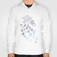 crystals Hoodies featuring crystals by Sil-la Lopez