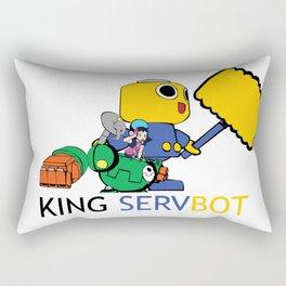 KING SERVBOT Rectangular Pillow