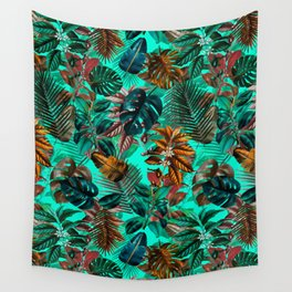 Tropical Garden II Wall Tapestry