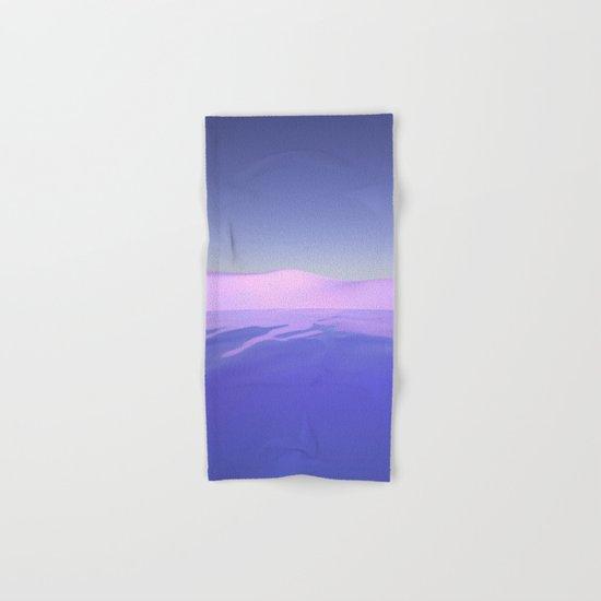 Purple Beach Hand & Bath Towel