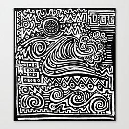 PIPELINES Canvas Print