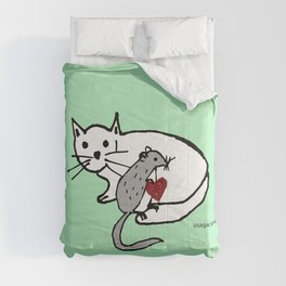 Impossible love Comforters
