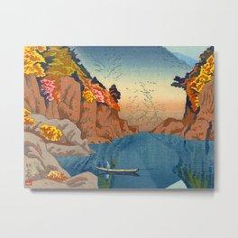 Asano Takeji Views of Wakayama Vintage Japanese Woodblock Print Landscape Asian Art Metal Print