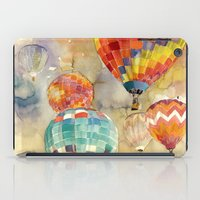 balloons iPad Cases featuring Balloons by takmaj