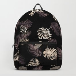 Tropical Monstera Palm Pattern #1 #tropical #decor #art #society6 Backpack