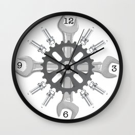 Tools Wall Clock