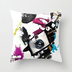 :: LOMO JUNKIE Throw Pillow