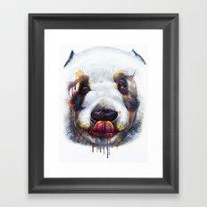 Sweet Panda Framed Art Print
