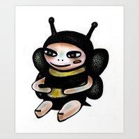 Bee Boy Art Print
