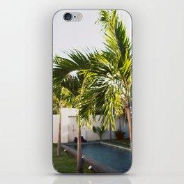 Bali Palm iPhone Skin