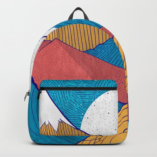 The Crosshatch Sky Backpack