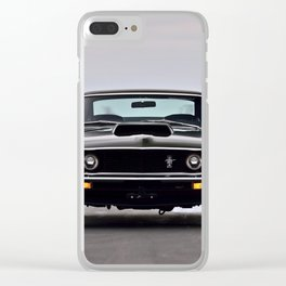 Mustang Frontview Ultra HD Clear iPhone Case