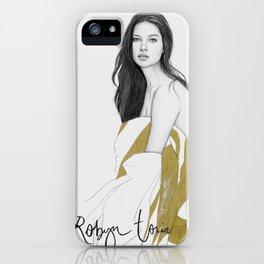 Adriana Lima iPhone Case