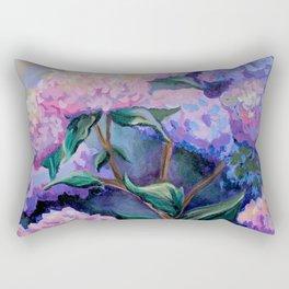 Cape Hydrangeas Rectangular Pillow