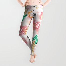 Abstract Watercolor III Leggings