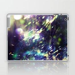 Blue Purple Web Laptop & iPad Skin