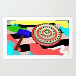 A recipe for disaster.  Art Print