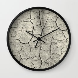 Parched Earth Wall Clock