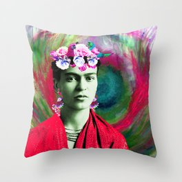 Frida Love's Freeda Throw Pillow