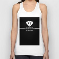 lorde Tank Tops featuring Diamonds by timberboard