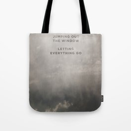A Beautiful Death Tote Bag