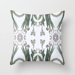 Forget Me Nots Study Dos Throw Pillow